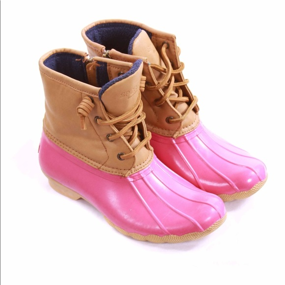 Sperry Shoes | Pink Rain Boots | Poshmark